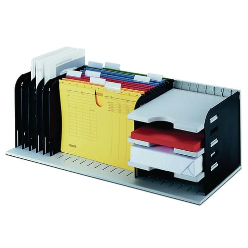 Styrorac Desktop Storage Unit with 8 Dividers and 3 Trays