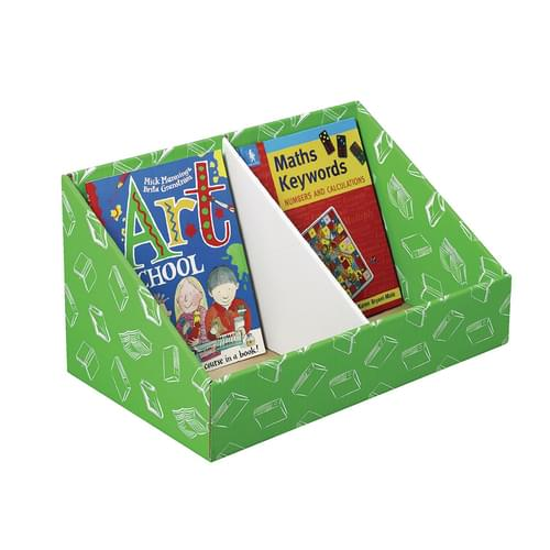 Class Store Book Bins Green