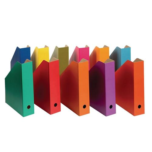 Colour Filing Boxes Mixed Colour