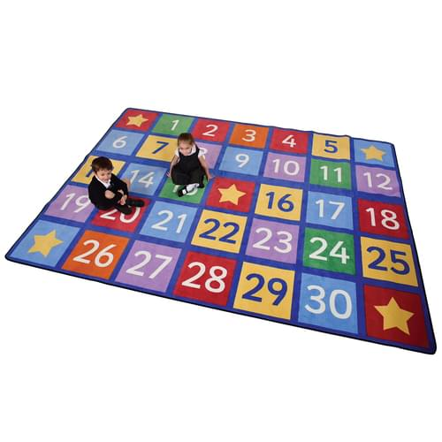 Numbers Learning Rug