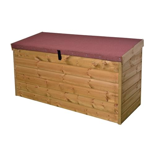 Timber Outdoor Storage Chest Delivered & Installed