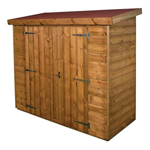 Timber Outdoor Narrow Storage Shed Delivered Only