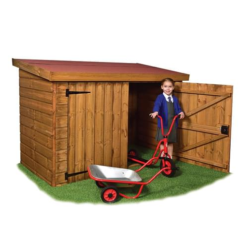 Timber Trike Storage Shed Delivered Only