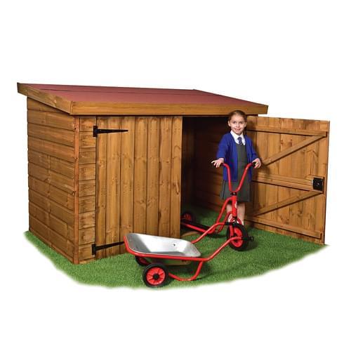 Timber Trike Storage Shed Delivered & Installed