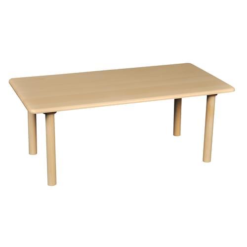 Beechwood Rectangular Table Size 1 (H: 460mm)