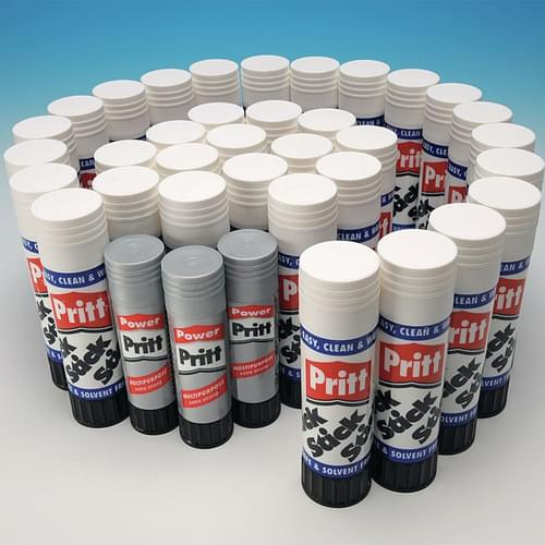 Pritt Stick Large 43g Pk34 + 3 Power Pritt FREE