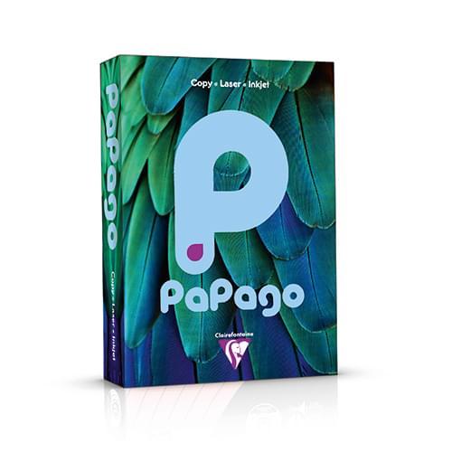 PaPago Coloured Card Sky Blue A4 160gsm