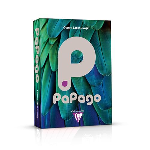 PaPago Coloured Card Steel Grey A4 160gsm