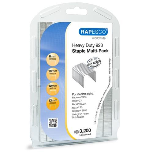 Rapesco 923 Staples Multipack