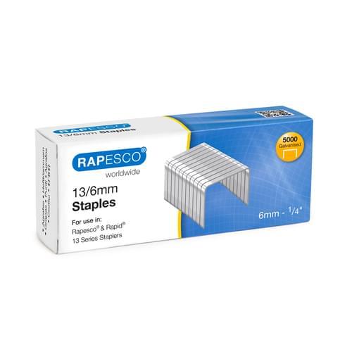 Rapesco 13/6 Staples Pk5000