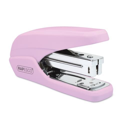 Rapesco X5-25PS Less Effort Stapler Candy Pink