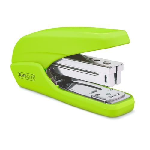 Rapesco X5-25PS Less Effort Stapler Green
