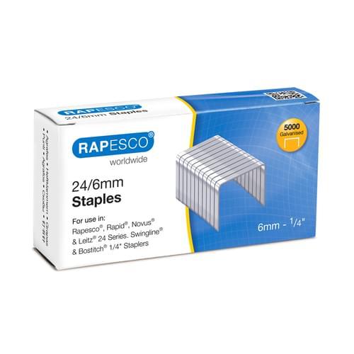 Rapesco 24/6 Staples Pk5000