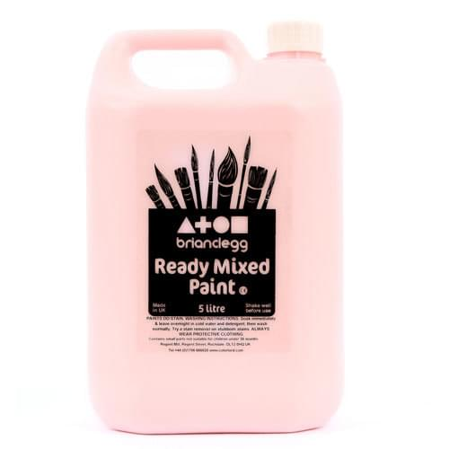 Ready Mixed Paint 5 Litre Bottle Pink