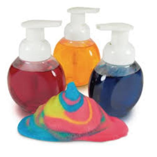 Foam Paint Bottles Pk3