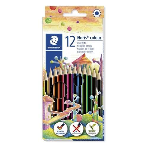 Staedtler Noris Colour Pencils Assorted Wallet of 12