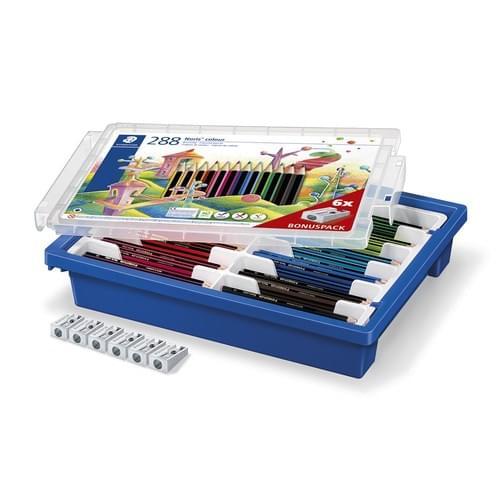 Staedtler Noris Colour Pencils Assorted Classpack of 288