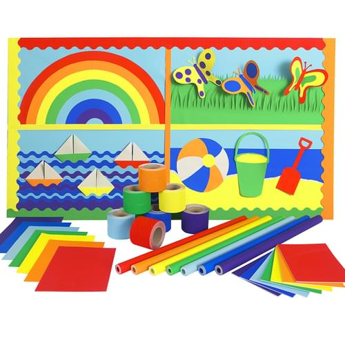 Rainbow Wall Display Pack