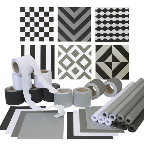 Monochrome Wall Display Pack