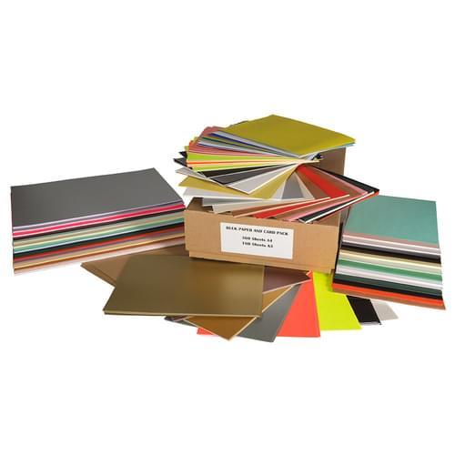 Bulk Mixed A4 & A3 Paper & Card Pack