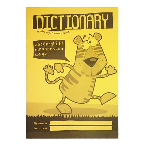 Silvine A5 Primary Dictionary 28 Pages