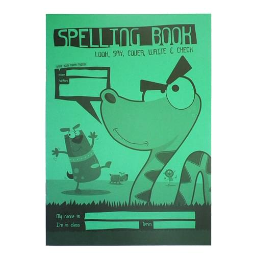 Silvine A5 Children's Spelling Book 32 Pages