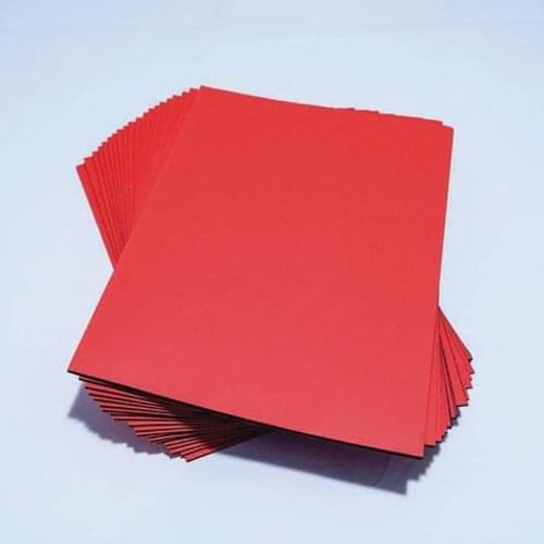 Silvine Black Sugar Paper Scrapbooks with Red Cover 32 Pages