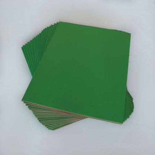Silvine Assorted Sugar Paper Simple Scrapbooks with Green Cover 32 Pages