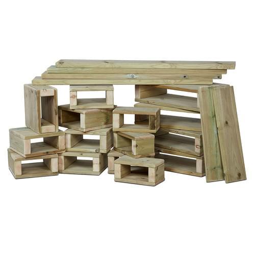 Millhouse Outdoors 22 Piece Building Block Set