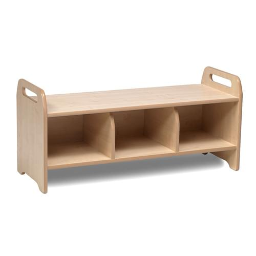 PlayScapes Large Cloakroom Storage Bench