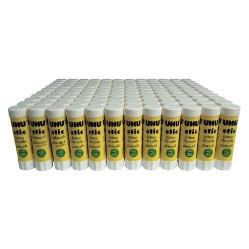UHU Stic Large 40g Pk100 + 20 FREE