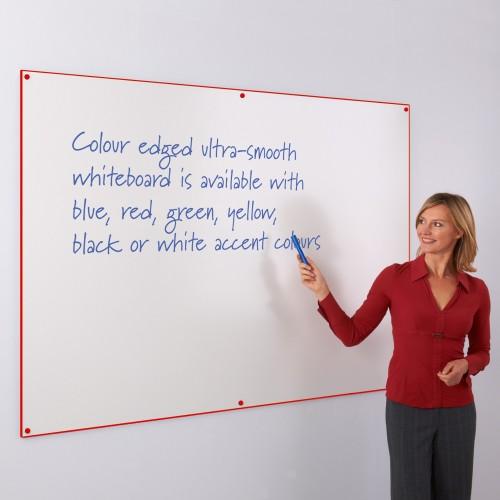 WriteOn Colour Edged Drywipe Whiteboards