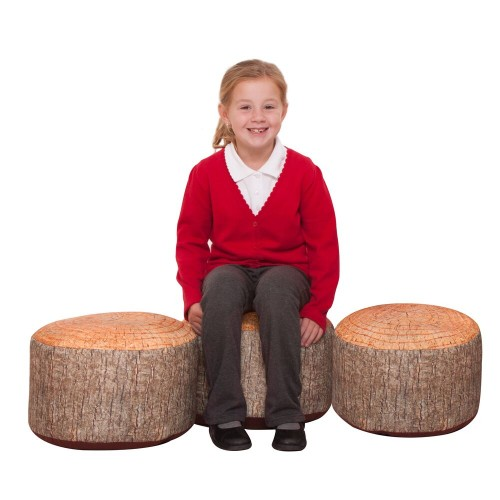 Learn About Nature Tree Stump Stools