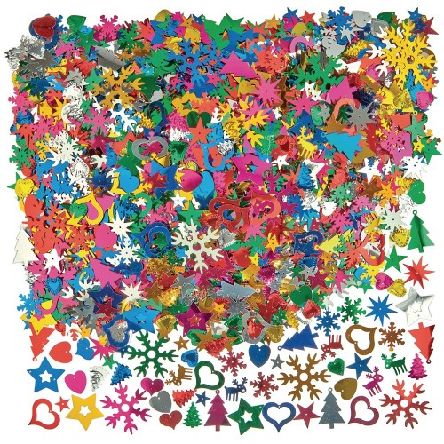 Christmas Sequin Mix 400g