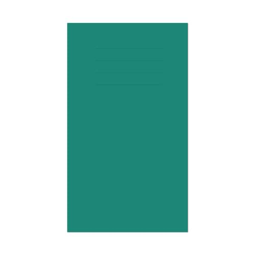 Vocabulary Book 165x101mm 7mm Ruled Dark Green Cover 80 Pages