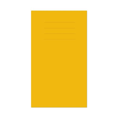 Vocabulary Book 165x101mm 7mm Ruled Yellow Cover 80 Pages