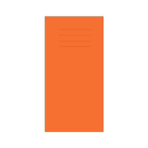 Vocabulary Book 203x101mm 7mm Squared Orange Cover 32 Pages