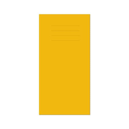 Vocabulary Book 203x101mm 8mm Ruled Yellow Cover 32 Pages