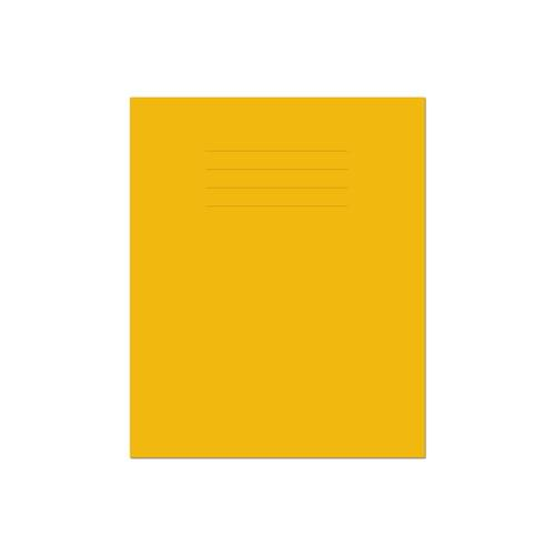 Exercise Book 8x6.5in 203x135mm 15mm Ruled Yellow Cover 32 Pages