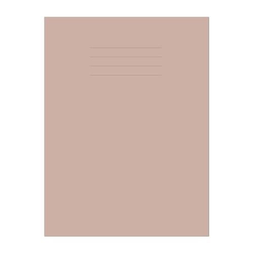 Exercise Book A4 297x210mm Plain (No Ruling) Buff Cover 64 Pages