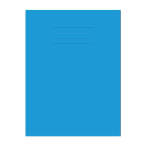 Exercise Book A4 297x210mm Plain (No Ruling) Light Blue Cover 64 Pages