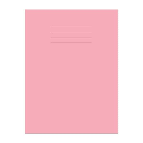 Exercise Book A4 297x210mm Plain (No Ruling) Pink Cover 48 Pages