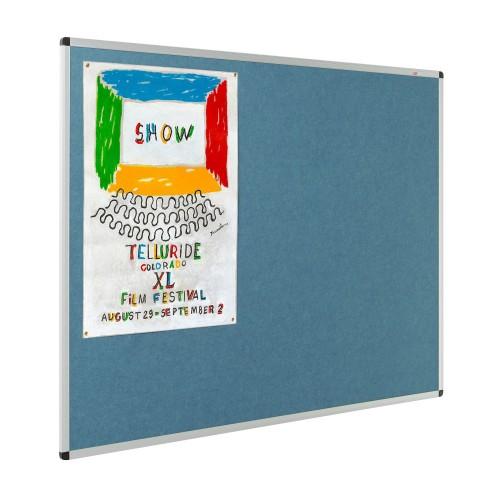 Resist-a-Flame Eco-Colour Aluminium Framed Noticeboards