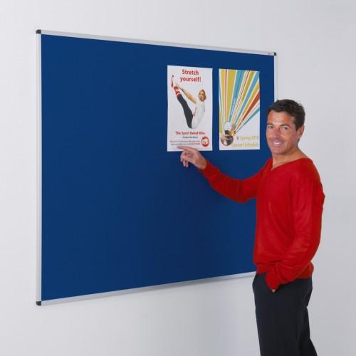 Standard Felt Aluminium Framed Noticeboards