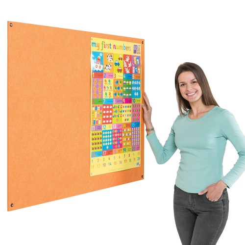 Resist-a-Flame Eco-Colour Unframed Noticeboards