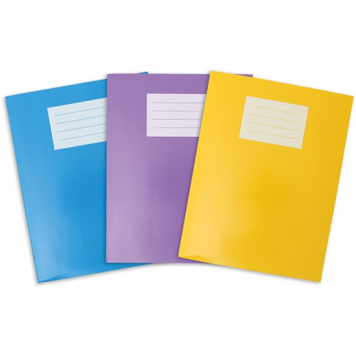Oxford Glossy 9x7in (229x178mm) Exercise Books
