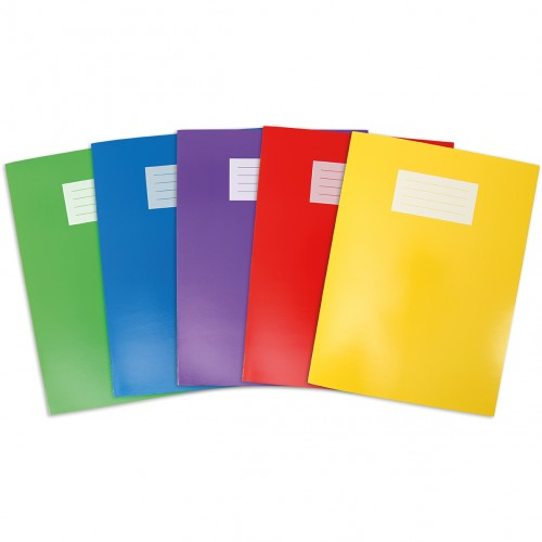 Oxford Glossy A4+ (320x240mm) Exercise Books
