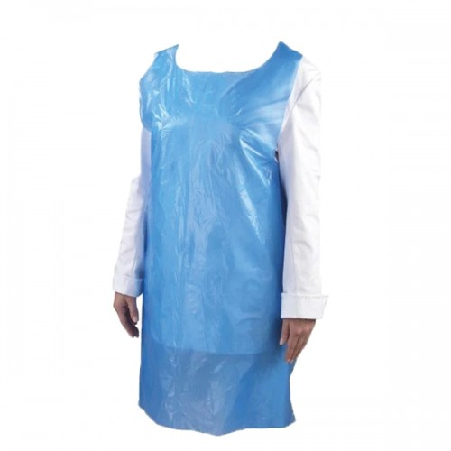 Blue Polythene Disposable Aprons