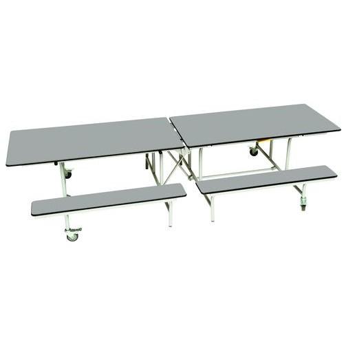 Rectangular Mobile Folding Bench Unit