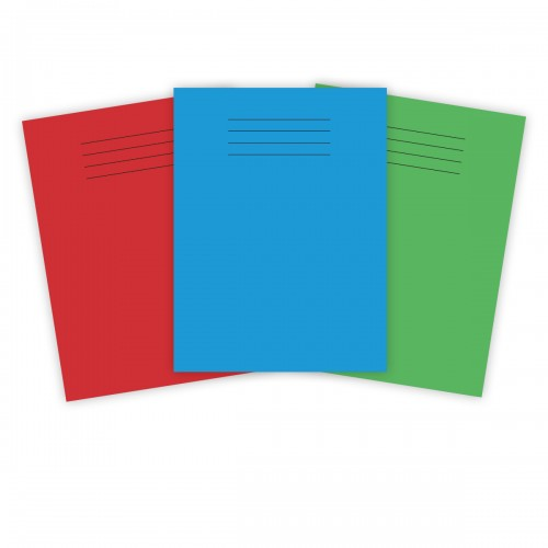 Super Saver 8x6.5in (203x165mm) Exercise Books